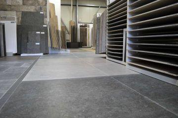showroom Hoorn tegelwerken - vloervlakken