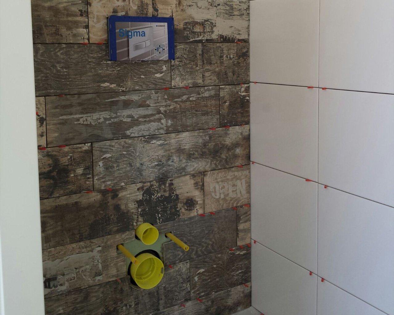 Keramisch Parket Badkamer : Badkamer met keramisch parket u hoorn tegelwerken